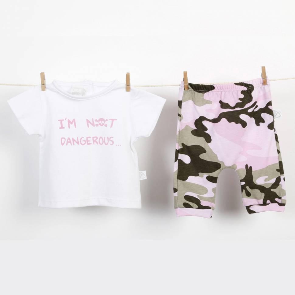 Camiseta+Pantalón CHARLY rosa