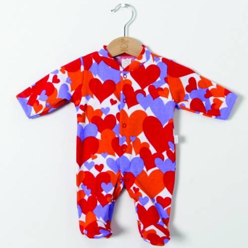 Pijama prematuro HIPPY rojo