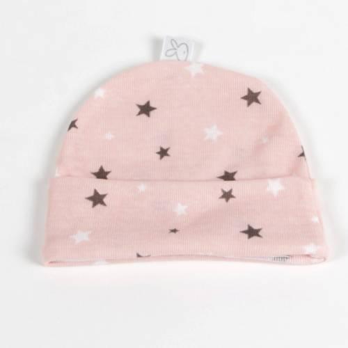 Gorro recién nacido Beltin STARLIGHT rosa