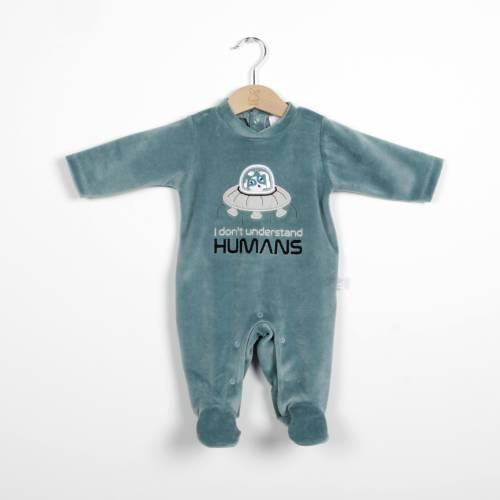 Pijama UFO verde de beltin newborn