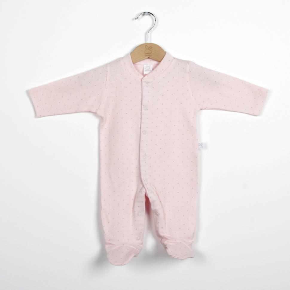 Pijama de algodón BIRDIE rosa