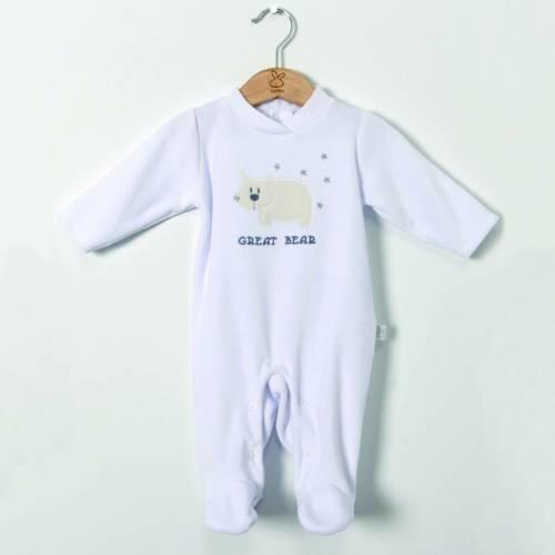 Pijama ALASKA blanco de BELTIN NEWBORN