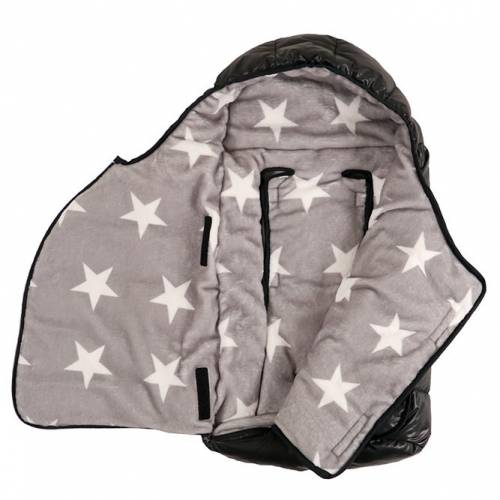 ESKIMO Black/STARprint 0-12m