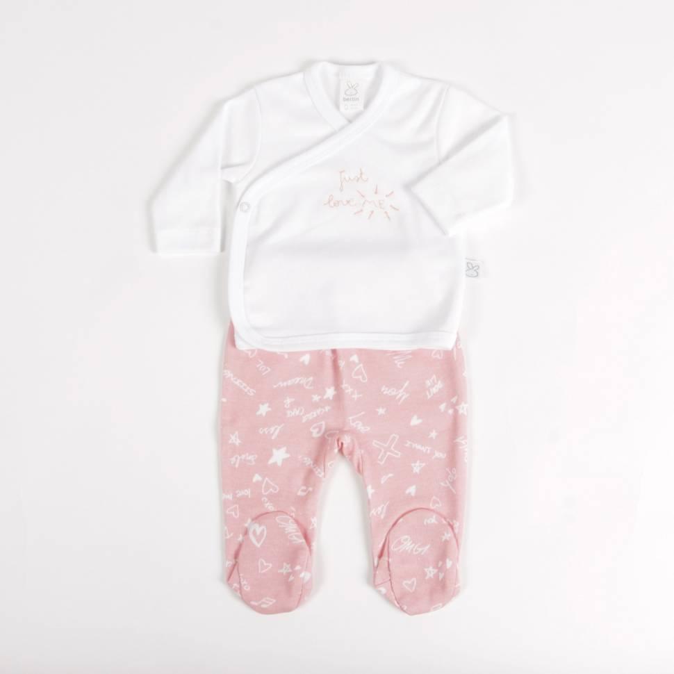 Primera puesta JUSTIN rosa Beltin newborn