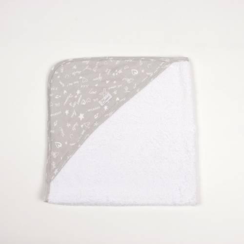 Capa de baño JUSTIN gris