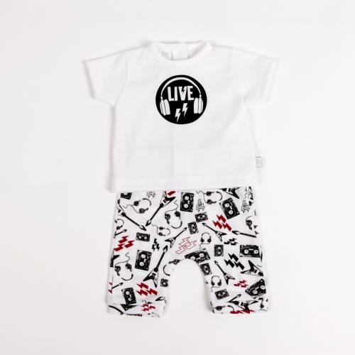 Conjunto camiseta+pantalón LIVE negro