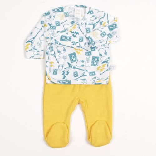 Primera puesta Beltin newborn Live Azul estampado