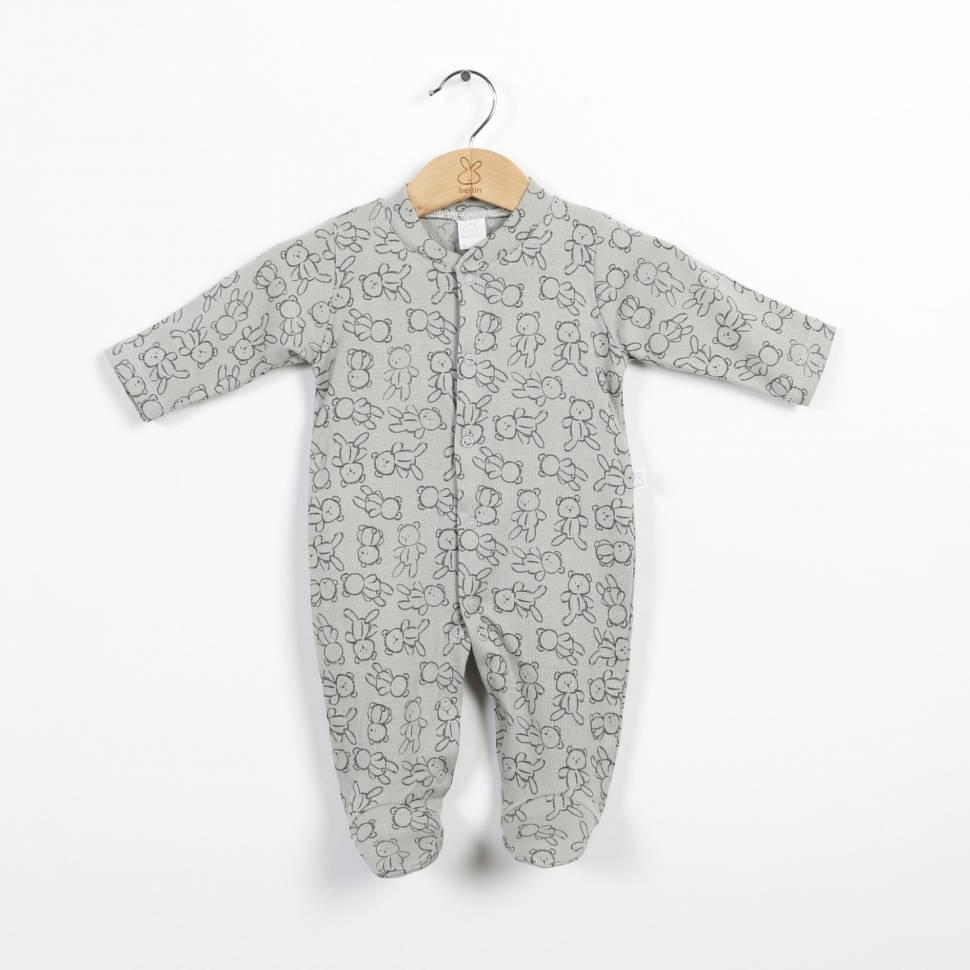 Pijama de algodón ROXY gris