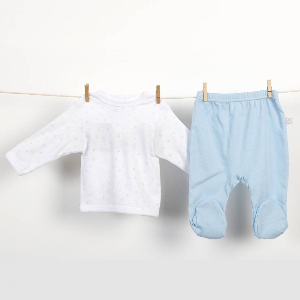 Primera puesta Beltin newborn ARAN azul