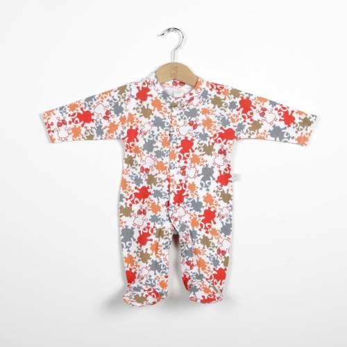Pijama de algodón UFO rojo