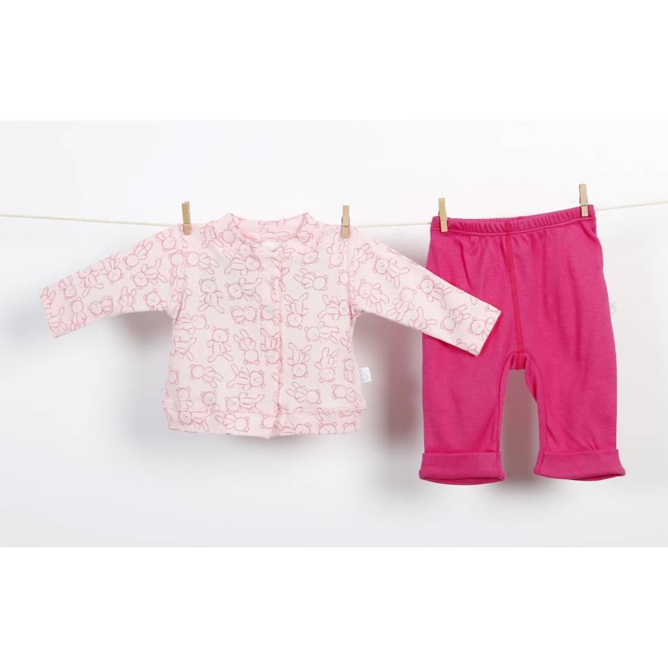 Conjunto de dos piezas Roxy rosa