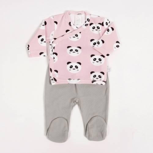 Primera puesta TOMY rosa beltin newborn