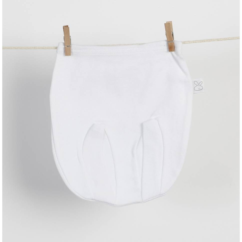 Ranita cubre pañal BASIC blanco