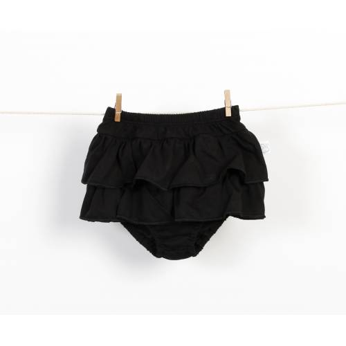 Braguita falda de volantes negro