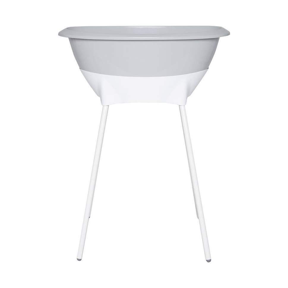 Bañera con patas Luma gris