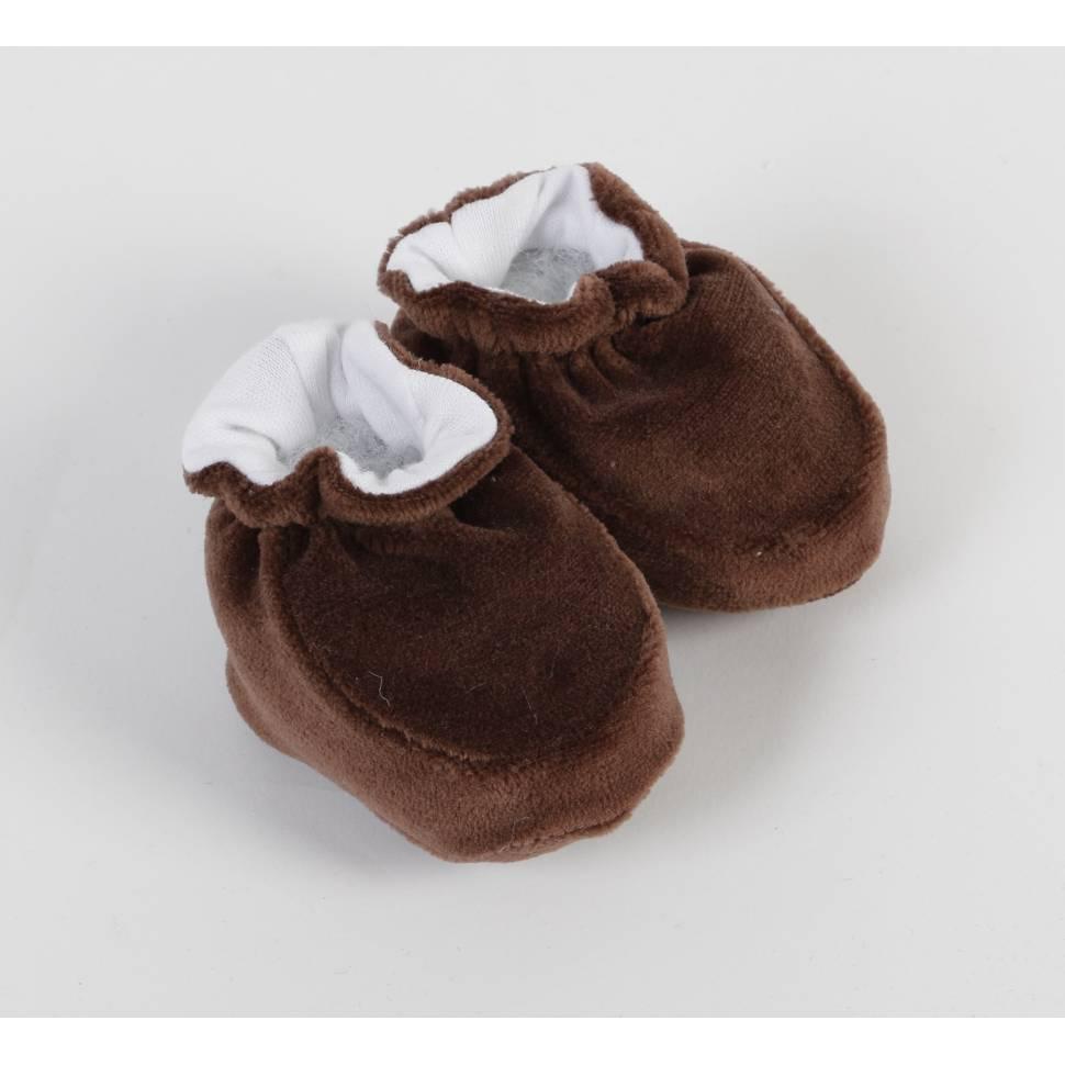 Patucos aterciopelado beltin CHOCOLATE
