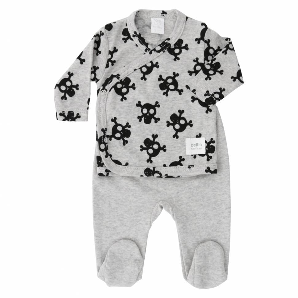 Primera puesta ALFA gris Beltin newborn Prematuros
