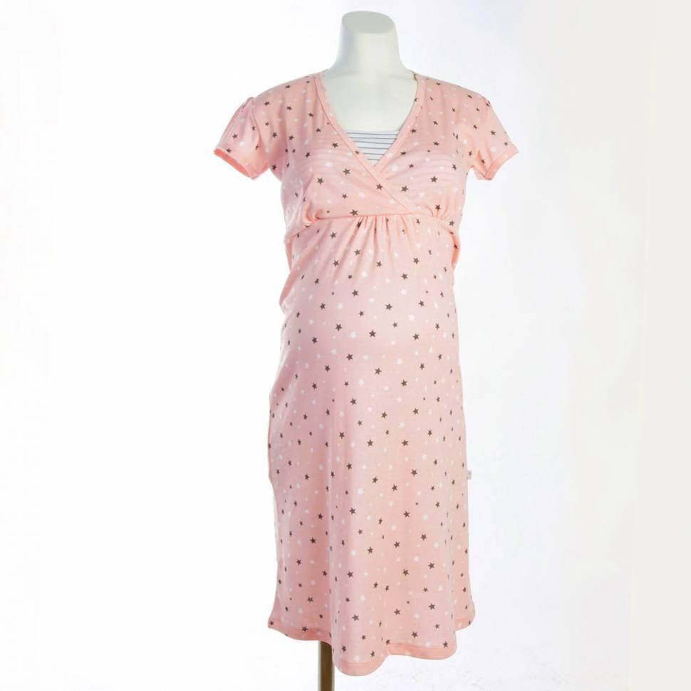Camisón Lactancia STARLIGHT rosa