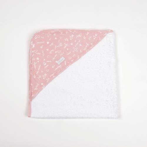 Capa de baño JUSTIN rosa