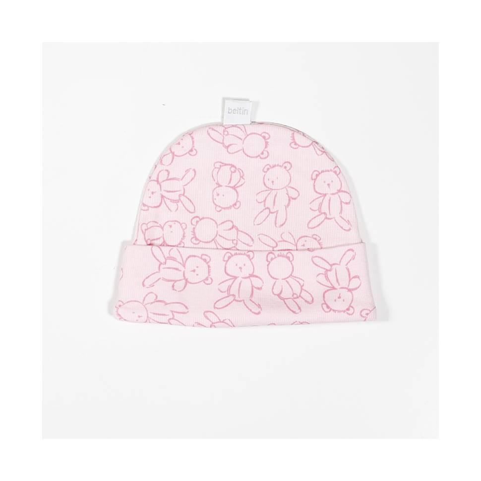 Gorro beltin newborn ROXY rosa