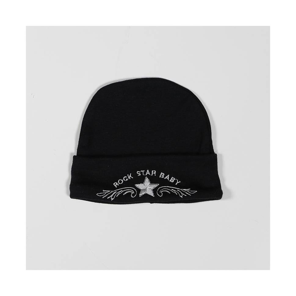 Gorro ROCK STAR BABY black