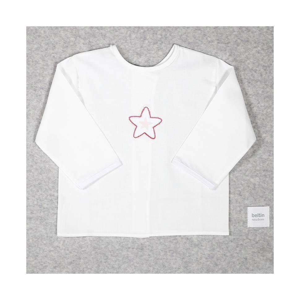 Batista de algodón estrella roja