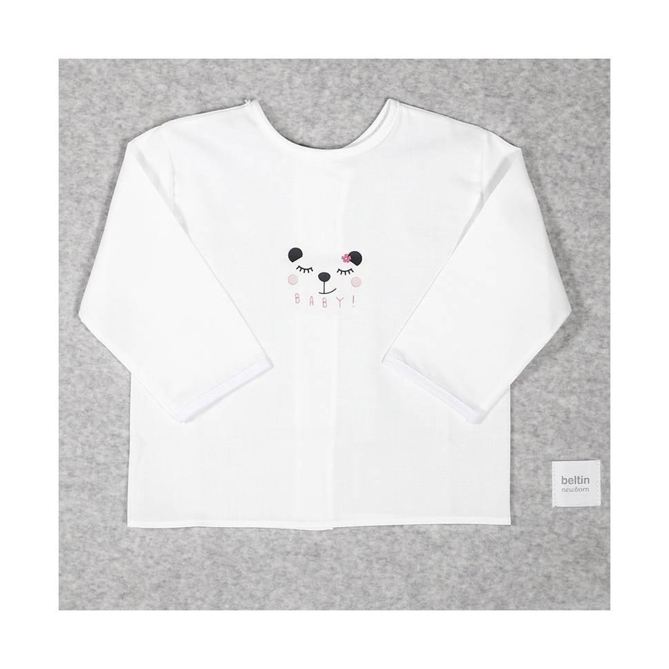 Batista de algodón panda