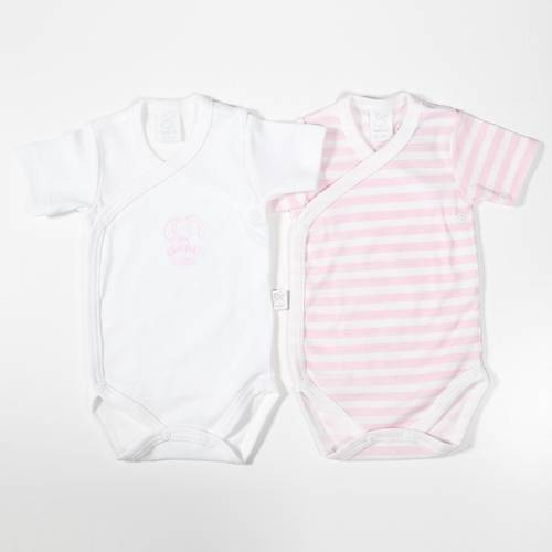 Pack 2 bodies DOUDOU rosa