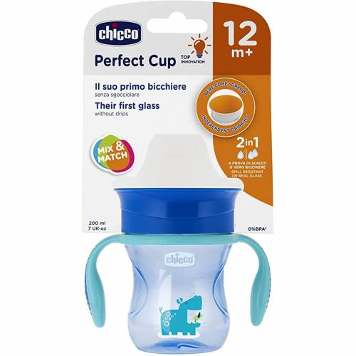 Vaso Perfect Cup Chicco azul