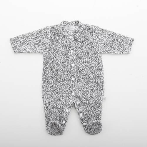 Pijama QUEEN silver abierto por delante