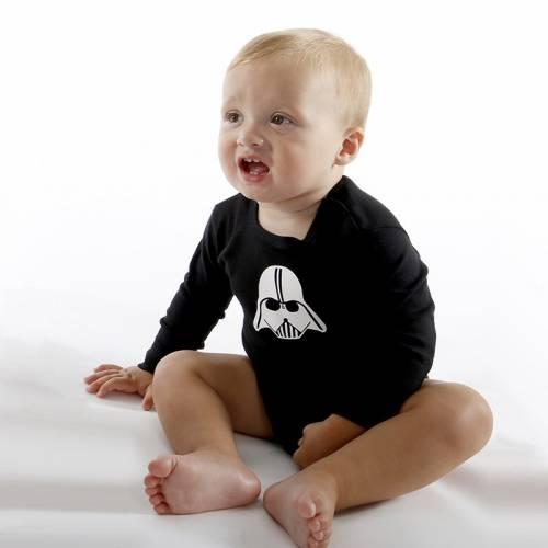 Body Clasic para bebé en manga larga DARKI negro