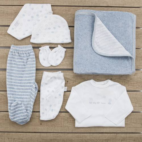 Pack para bebé recién nacido DOLLY AZUL