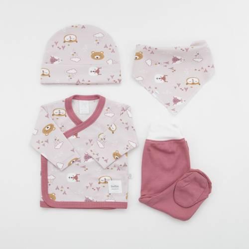 Pack recién nacido NUKA ROSA beltin newborn
