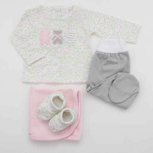Pack bebé OSITA ROSA de beltin newborn