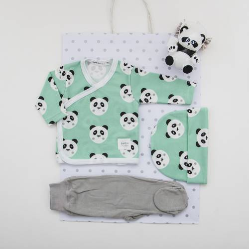 Pack primera puesta para bebé TOMY MINT de beltin newborn