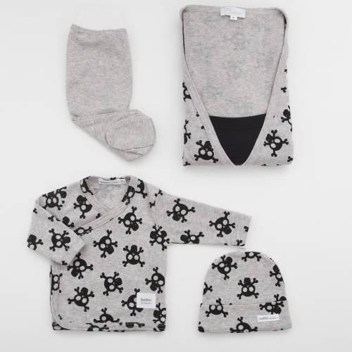 Pack camisón premamá con primera puesta bebé ALFA