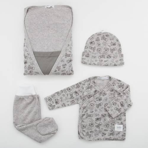 Pack camisón premamá con primera puesta bebé FLASH