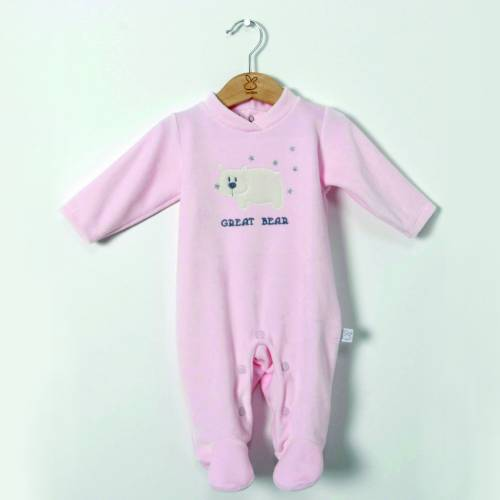 Pijama ALASKA rosa de BELTIN NEWBORN
