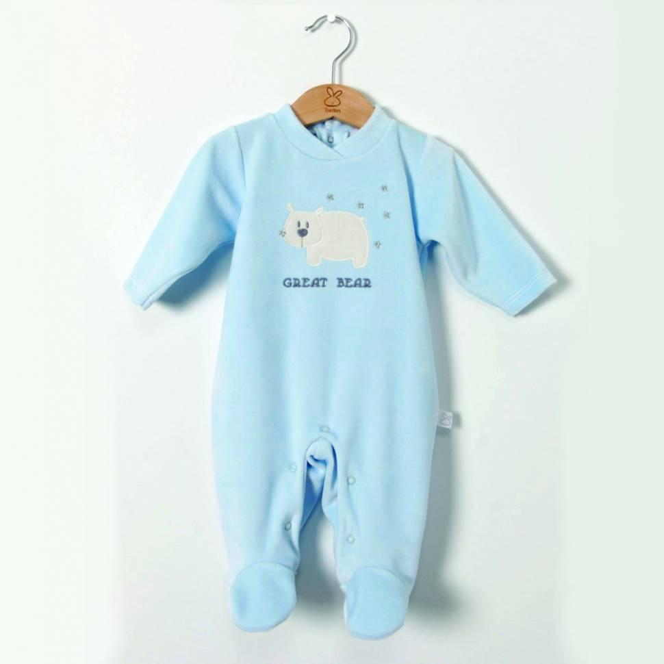 Pijama ALASKA azul de BELTIN NEWBORN