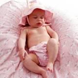 Bañador con gorro para bebé Beltin Licorn frontal