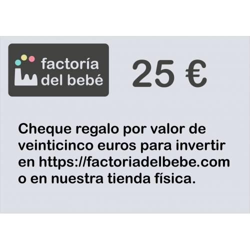 Cheque 25€